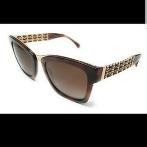 Chanel Tortoise Gradient Bordeaux Sunglasses5362Q